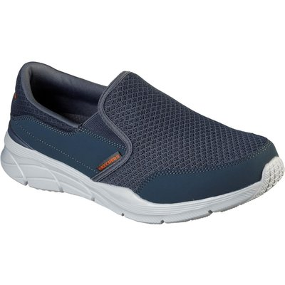 Skechers Mens Equalizer.0 Persisting Shoes Charcoal/Orange