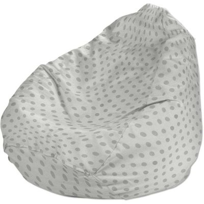 Beanbag, grey spots on white background