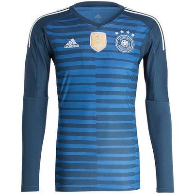 Adidas Torwarttrikot blau