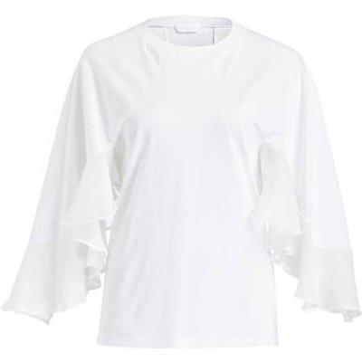 CHLOÉ Chloé Shirt Mit 3/4-Arm weiss