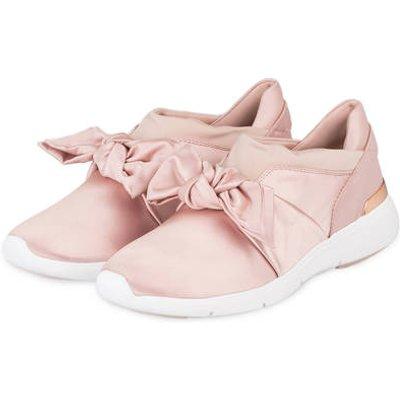 Michael Kors Satin-Sneaker Willa rosa