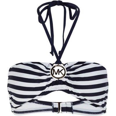 MICHAEL KORS Michael Kors Bandeau-Bikini-Top blau