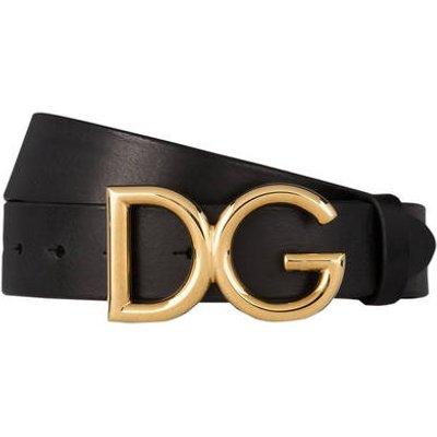 DOLCE & GABBANA Dolce&Gabbana Ledergürtel schwarz
