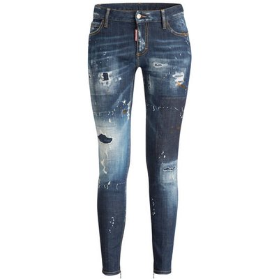 DSQUARED2 dsquared2 Jeans Super Patch blau