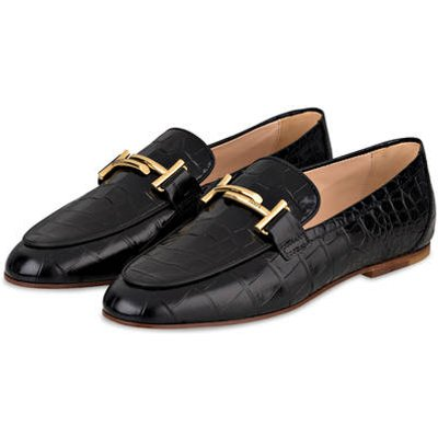 Tod's Loafer schwarz