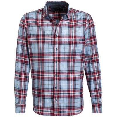 Olymp Hemd Casual Modern Fit rot