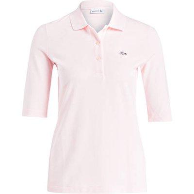 Lacoste Piqué-Poloshirt Mit 3/4-Arm rosa