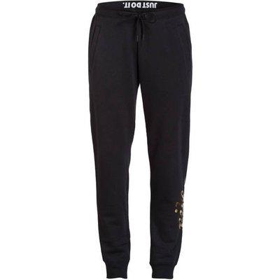 NIKE Nike Sweatpants Rally Metallic schwarz