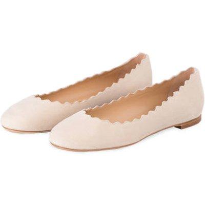 CHLOÉ Chloé Ballerinas Lauren beige