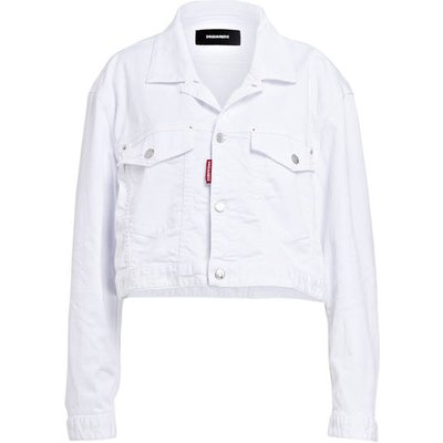 DSQUARED2 dsquared2 Jeansjacke weiss