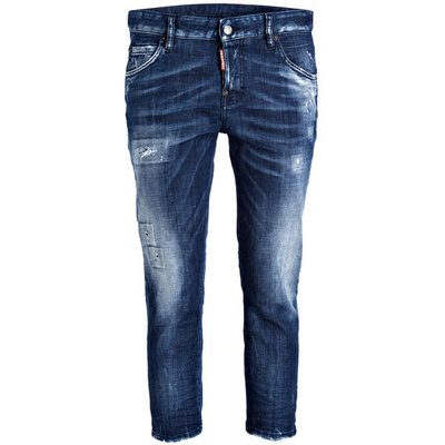 DSQUARED2 dsquared2 Destroyed-Jeans Cool Girl blau