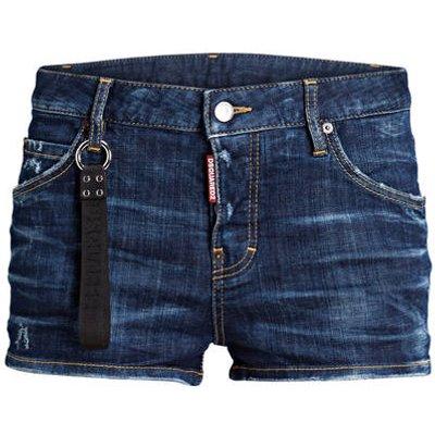 dsquared2 Jeans-Shorts blau