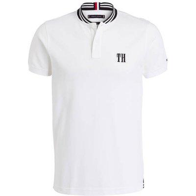 TOMMY HILFIGER Tommy Hilfiger Piqué-Poloshirt weiss
