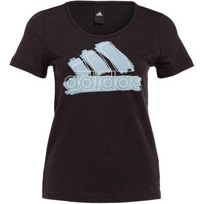 ADIDAS Adidas T-Shirt Badge Of Sports schwarz