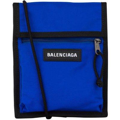 BALENCIAGA Balenciaga Umhängetasche Explorer blau