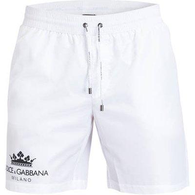 DOLCE & GABBANA Dolce&Gabbana Badeshorts weiss