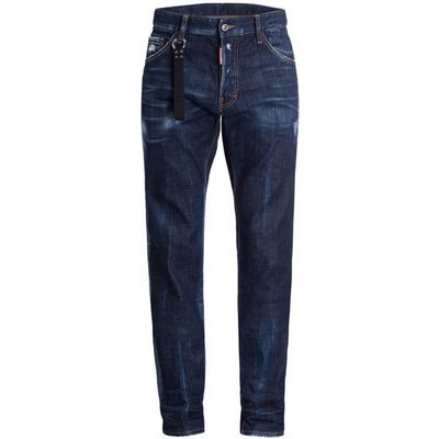 DSQUARED2 dsquared2 Destroyed-Jeans Cool Guy blau