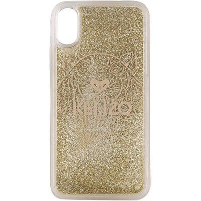 KENZO Kenzo Smartphone-Hülle gold