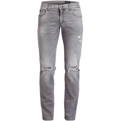 DOLCE & GABBANA Dolce&Gabbana Destroyed-Jeans Skinny Fit blau