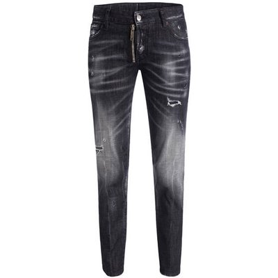 DSQUARED2 dsquared2 7/8-Jeans Runway schwarz