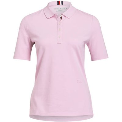 TOMMY HILFIGER Tommy Hilfiger Piqué-Poloshirt rosa