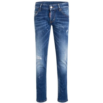 DSQUARED2 dsquared2 Destroyed-Jeans Clement blau