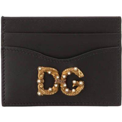DOLCE & GABBANA Dolce&Gabbana Kartenetui Amore schwarz
