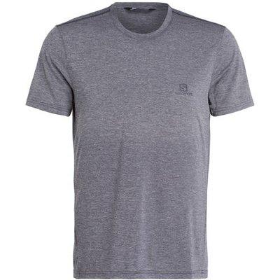 SALOMON Salomon Piqué-Shirt Explore grau