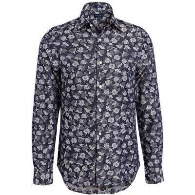 Gant Hemd Slim Fit blau