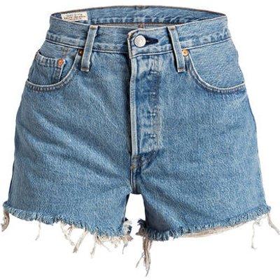 LEVI'S Levi's® Jeans-Shorts 501 blau
