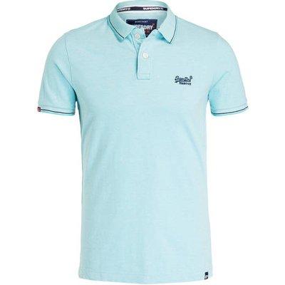 SUPERDRY Superdry Piqué-Poloshirt blau