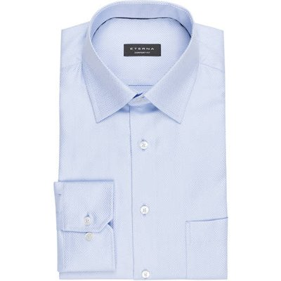 Eterna Hemd Comfort Fit blau
