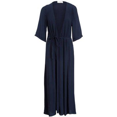 AMERICAN VINTAGE American Vintage Kimono-Kleid Totiouk blau