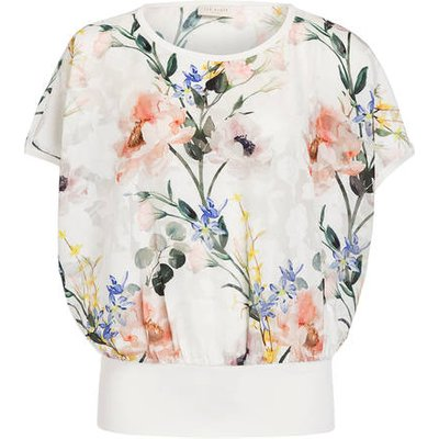 TED BAKER Ted Baker Blusentop weiss