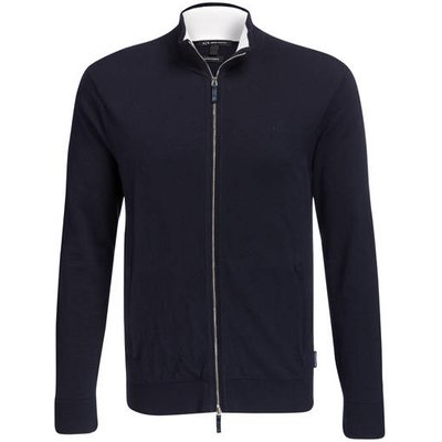 Armani Exchange Strickjacke blau