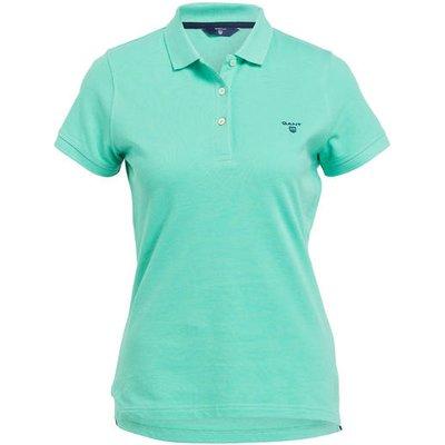 Gant Piqué-Poloshirt blau