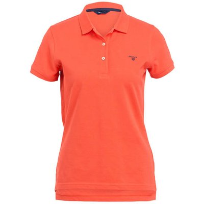 Gant Piqué-Poloshirt orange