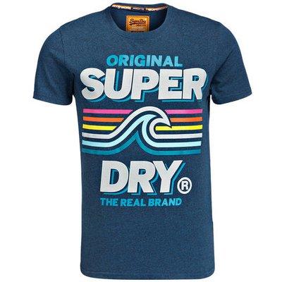 SUPERDRY Superdry T-Shirt blau