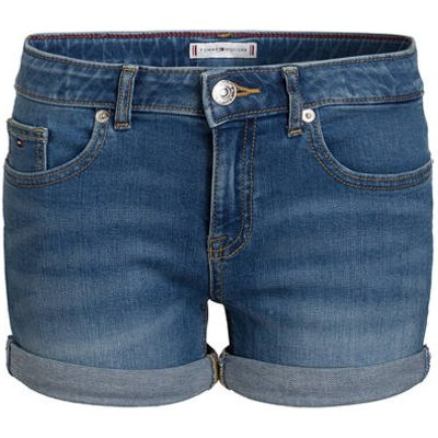 TOMMY HILFIGER Tommy Hilfiger Jeans-Shorts Nora blau