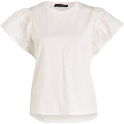 WEEKEND MAX MARA Weekend Maxmara T-Shirt Cerchio weiss