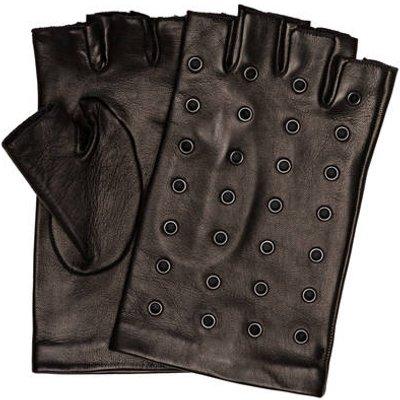 KARL LAGERFELD Karl Lagerfeld Lederhandschuhe schwarz