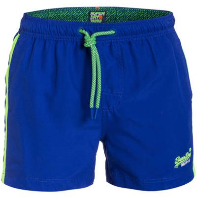 SUPERDRY Superdry Badeshorts Beach Volley blau