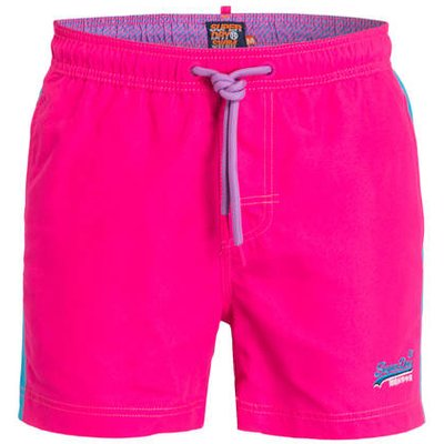 SUPERDRY Superdry Badeshorts Beach Volley pink