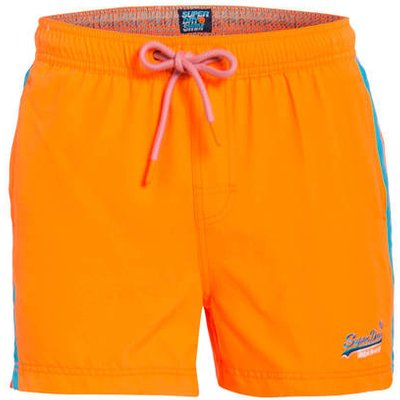 Superdry Badeshorts Beach Volley orange