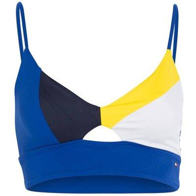 TOMMY HILFIGER Tommy Hilfiger Bustier-Bikini-Top blau