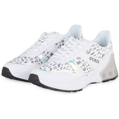 GUESS Guess Plateau-Sneaker Teknical weiss