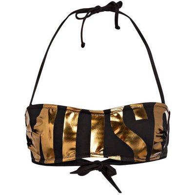 MOSCHINO Moschino Bandeau-Bikini-Top gold