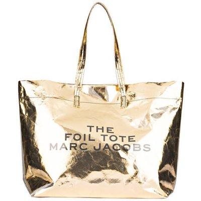 MARC JACOBS Marc Jacobs Shopper Foil Tote gold