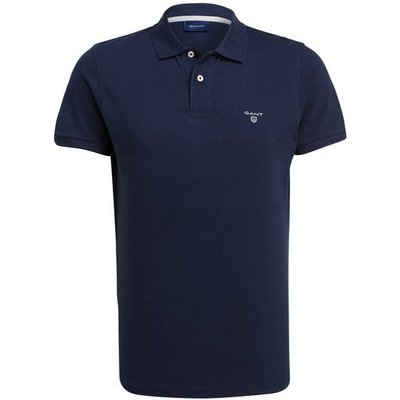 GANT Gant Piqué-Poloshirt blau