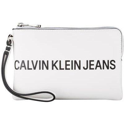 CALVIN KLEIN Calvin Klein Jeans Clutch weiss